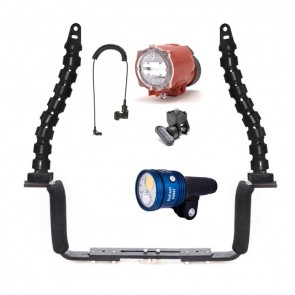 Strobe and video light package Inon S2000