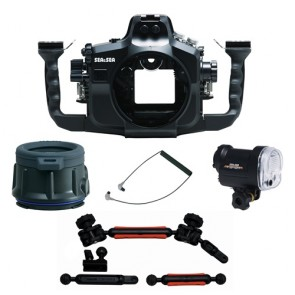 Sea & Sea Underwater Camera Housing MDX-7D for CANON EOS 7D w/YS-01 / Flat Port