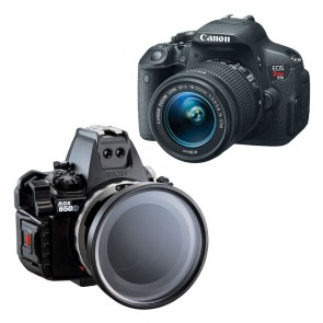 Sea and Sea RDX-650D Underwater Housing AND Canon 700D Camera