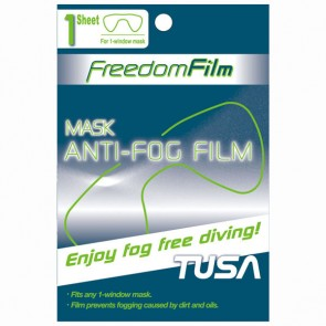 TUSA - Freedom Film Anti-Fog for 1 Window Masks