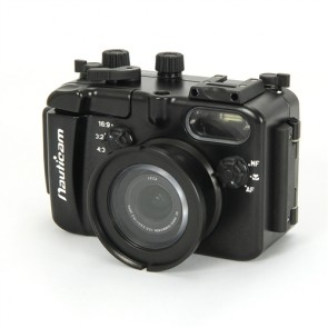 Nauticam 17701 NA-LX5 housing for Panasonic LX5  / Leica D-Lux 5 camera