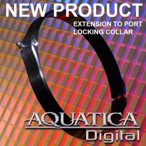 Aquatica Extension to port lock mechanism (used to lock extension to port)