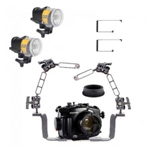 Fantasea Underwater Housing Light Bundle FA-FA6400-OT-YSD2J-D- 01