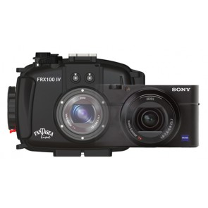 Fantasea FRX100 V Underwater Housing AND Sony RX100 IV Camera