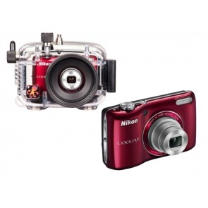 Underwater Housing AND Nikon L26 Digital Camera