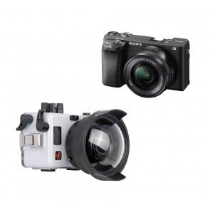 Ikelite Underwater Mirrorless Housing for Sony A6400 with 16-50mm Lens