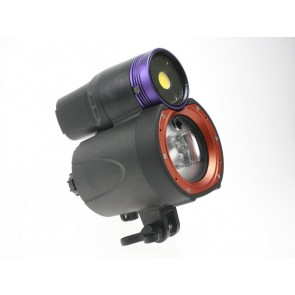 Itorch Symbiosis SS-2 4K Video Light and Underwater Strobe Flash