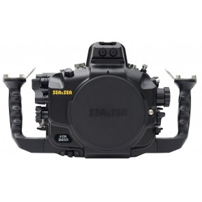 Sea and Sea housing for Nikon D850 - front view