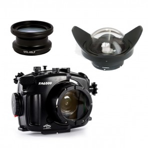 Fantasea FA6500 Underwater  Housing for Sony A6500 / A6300 + Wet Lenses