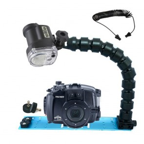 Fantasea FRX100V Underwater Housing for Sony RX100 III / IV / V w/Sea & Sea YS-01 Solis
