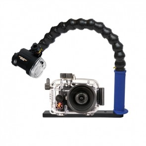 Ikelite Ultra Compact S110 Underwater Housing for Canon S110 w/Sea & Sea YS-01 Strobe