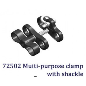 Nauticam - Multi-Purpose (MP) Clamp with Shackle
