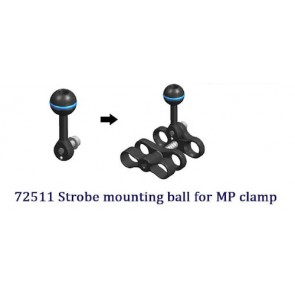 Nauticam - Strobe Mounting Ball for Fastening on MP Clamp
