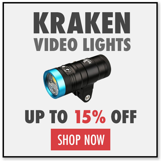 Black Friday Deals on Kraken Underwater Video Lights