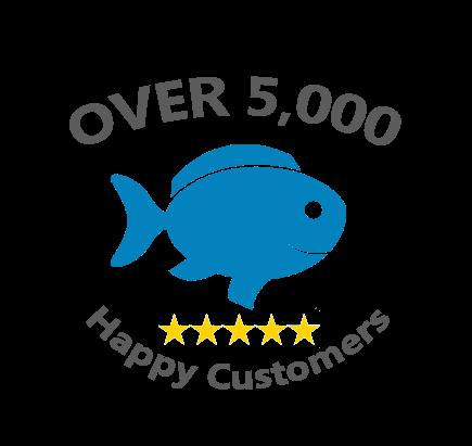 5,000 Happy Customers