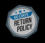 60 Day Return Policy
