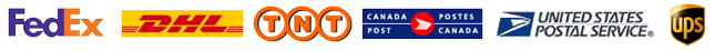 Shipping with UPS / Fedex / USPS or Canada Post